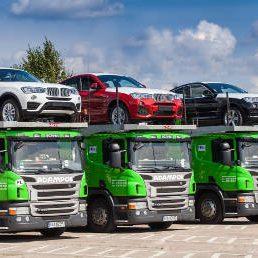 flota autotransporterów